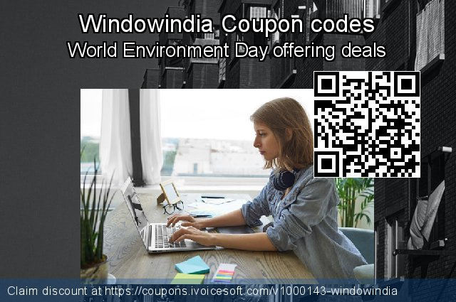 Windowindia Coupon code for 2020 Back to School shopping