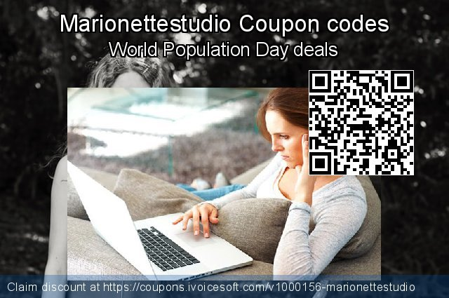 Marionettestudio Coupon code for 2021 Women Day