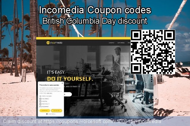 Incomedia Coupon code for 2020 Labour Day