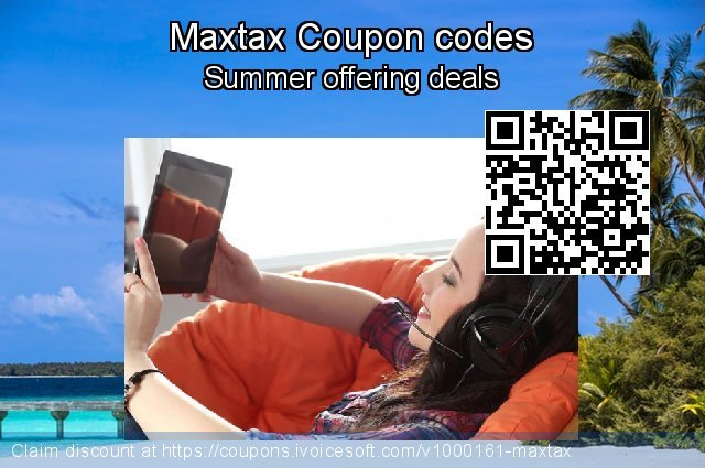 Maxtax Coupon code for 2020 Fourth of July