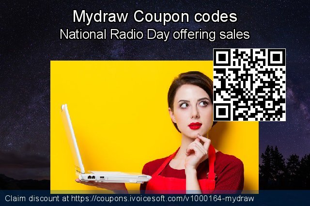 Mydraw Coupon code for 2019 Labour Day
