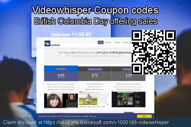 Videowhisper Coupon code for 2019 Xmas