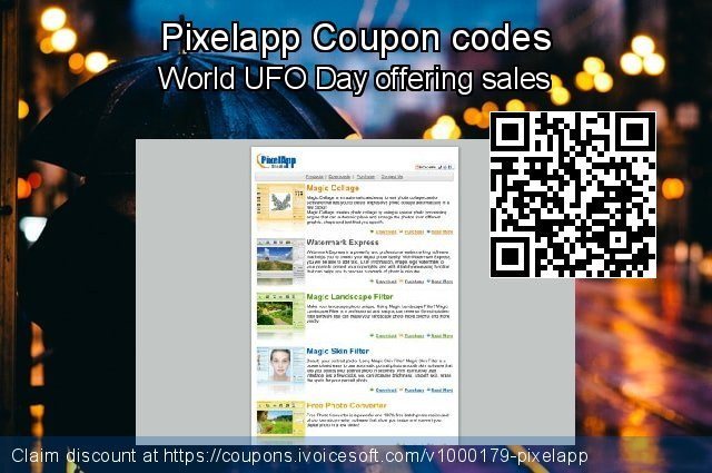 Pixelapp Coupon code for 2020 Happy New Year