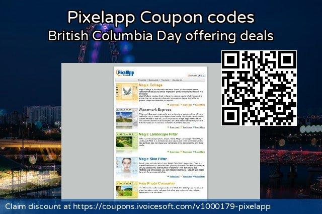 Pixelapp Coupon code for 2019 Halloween