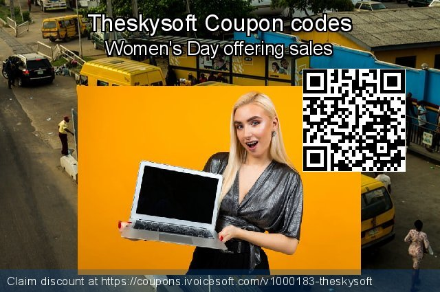 Theskysoft Coupon code for 2021 Spring