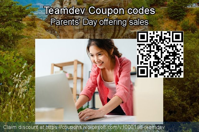 Teamdev Coupon code for 2021 Resurrection Sunday