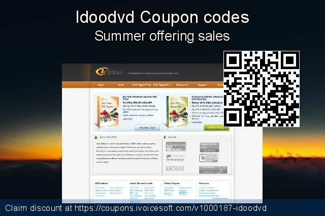 Idoodvd Coupon code for 2019 Halloween