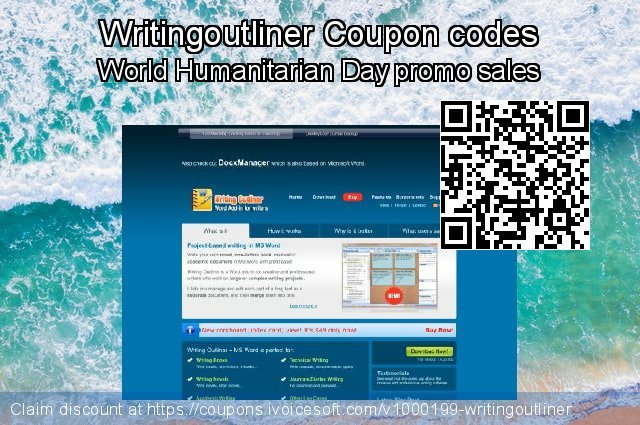 Writingoutliner Coupon code for 2019 Xmas Day
