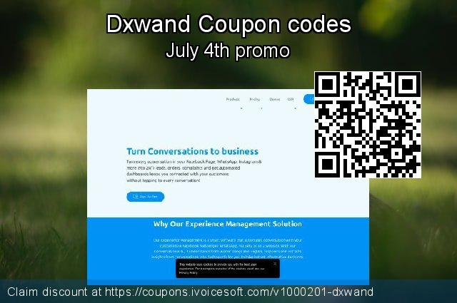 Dxwand Coupon code for 2019 July 4th