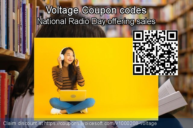Voltage Coupon code for 2020 Back to School coupons