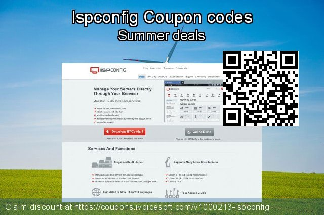 Ispconfig Coupon code for 2019 Father's Day
