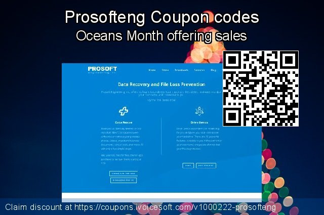 Prosofteng Coupon code for 2019 Xmas