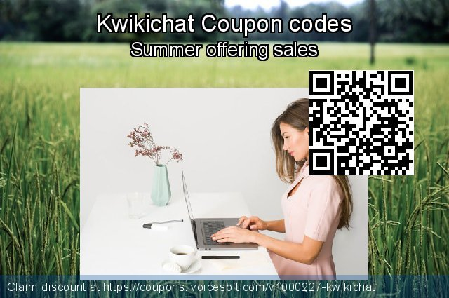 Kwikichat Coupon code for 2019 Father's Day