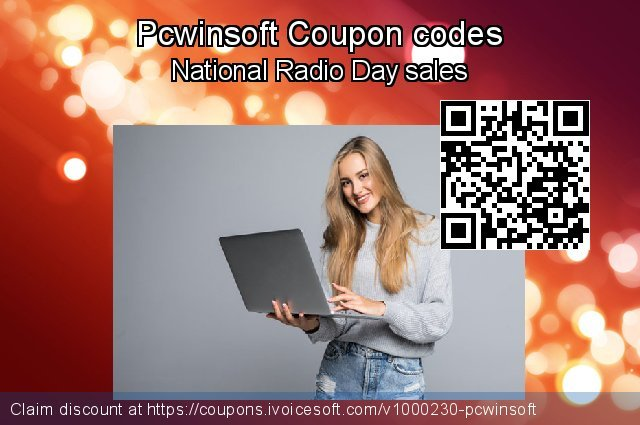 Pcwinsoft Coupon code for 2021 Working Day