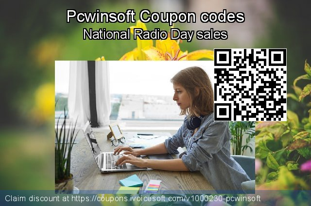 Pcwinsoft Coupon code for 2020 Back to School season