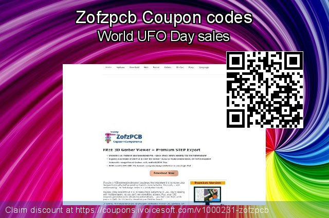 Zofzpcb Coupon code for 2020 Fourth of July