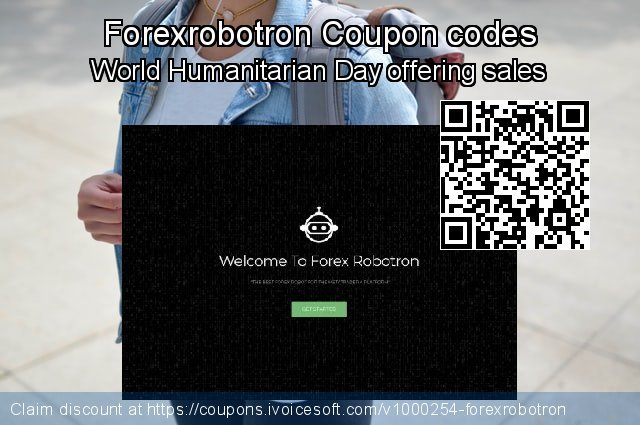 Forexrobotron Coupon code for 2020 Happy New Year