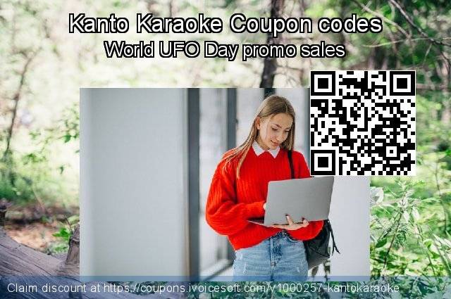 Kanto Karaoke Coupon code for 2019 Father's Day