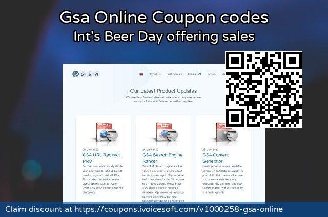 Gsa Online Coupon code for 2019 Halloween