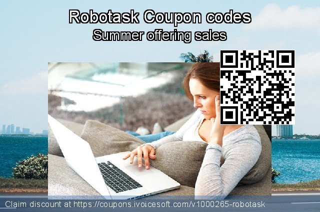 Robotask Coupon code for 2019 Summer