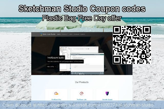 Sketchman Studio Coupon code for 2020 New Year's Weekend