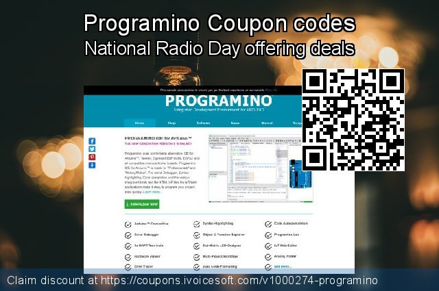 Programino Coupon code for 2020 July 4th