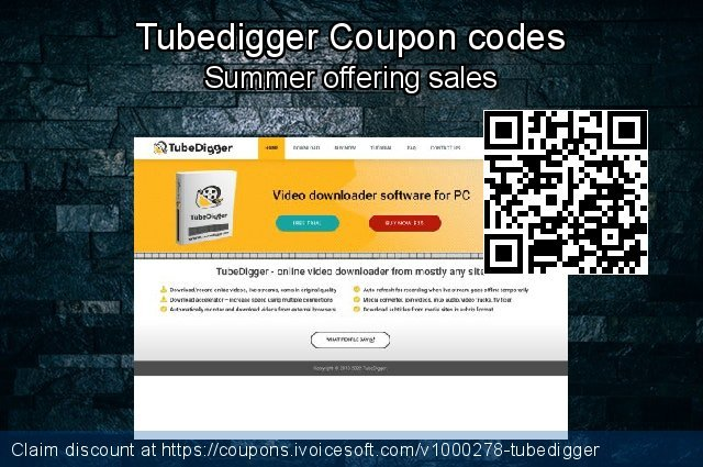Tubedigger Coupon code for 2019 Halloween