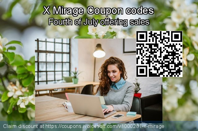 X Mirage Coupon code for 2019 Father's Day