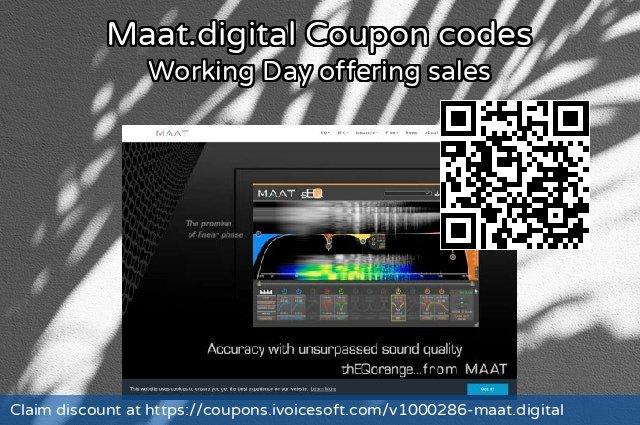 Maat.digital 令人敬畏的 销售折让, 2021 母親節