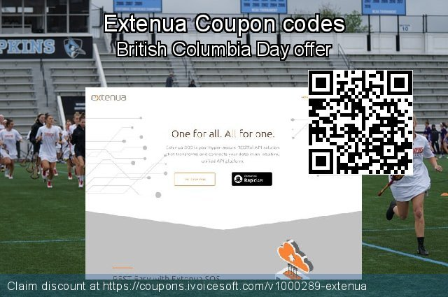 Extenua Coupon code for 2020 July 4th