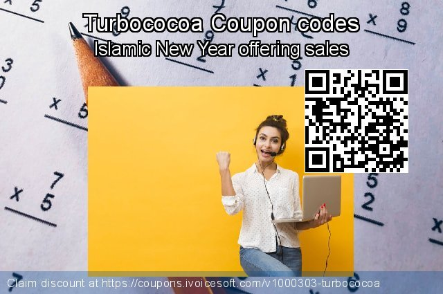 Turbococoa Coupon code for 2020 Happy New Year