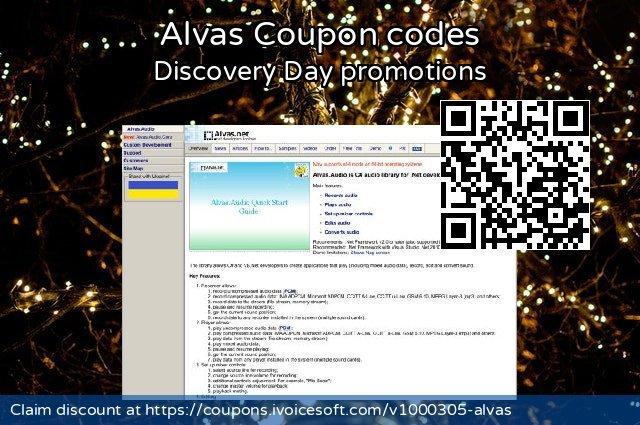 Alvas Coupon code for 2019 Thanksgiving Day