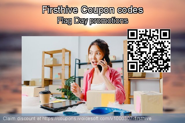Firsthive Coupon code for 2020 Back to School event