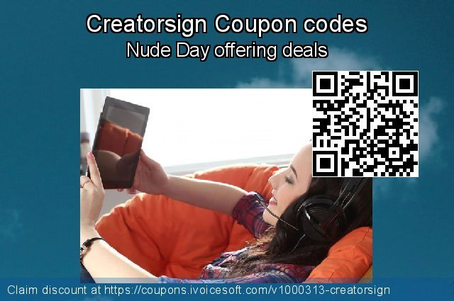 Creatorsign Coupon code for 2019 Back to School Promos