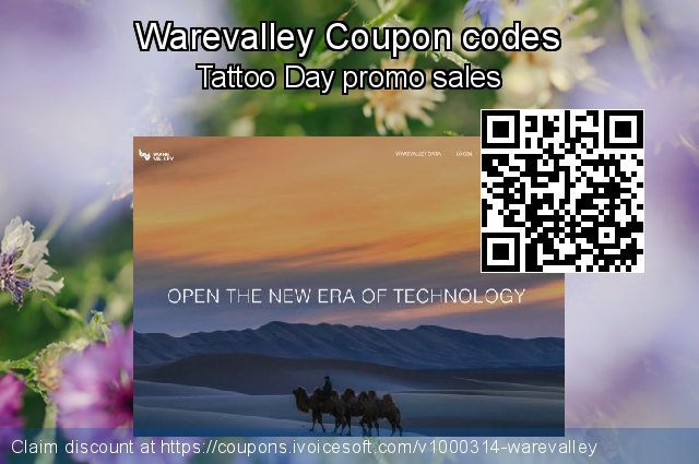 Warevalley Coupon code for 2021 Earth Hour
