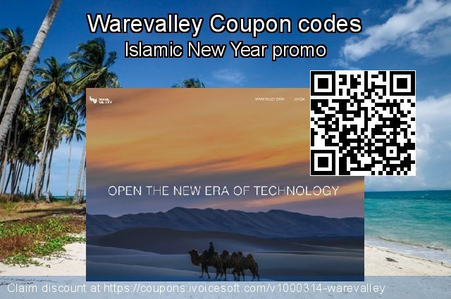Warevalley Coupon code for 2019 4th of July
