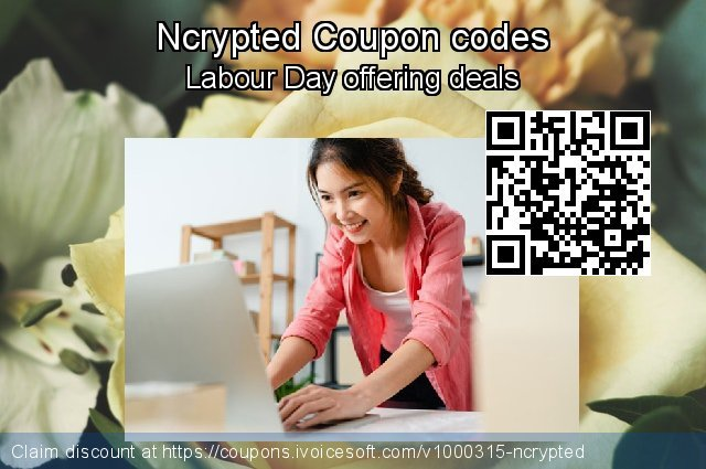 Ncrypted Coupon code for 2020 American Independence Day