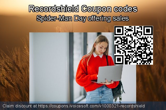 Recordshield Coupon code for 2019 Back to School coupons