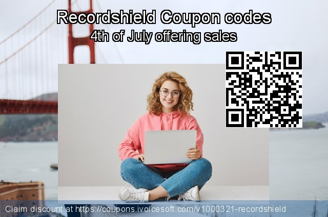 Recordshield Coupon code for 2020 Fourth of July