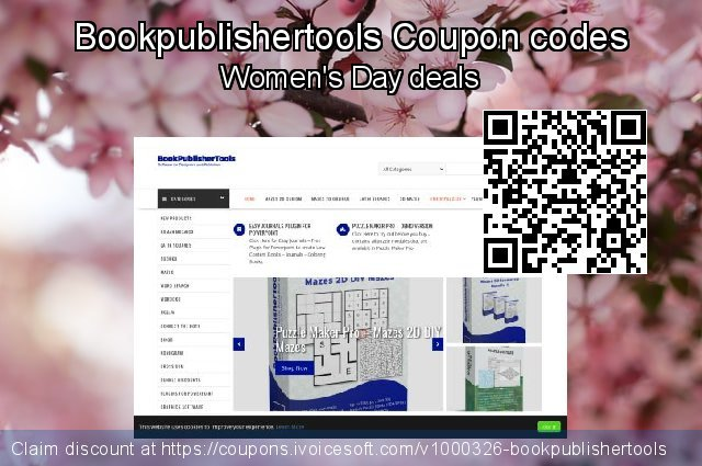 Bookpublishertools Coupon code for 2021 Kiss Day