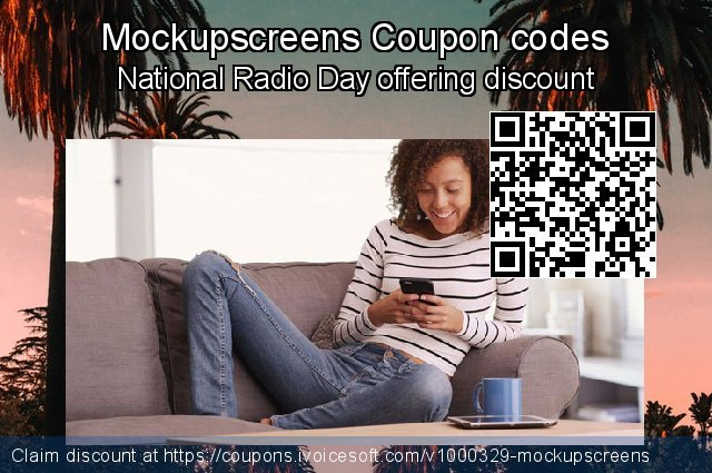 Mockupscreens Coupon code for 2020 July 4th