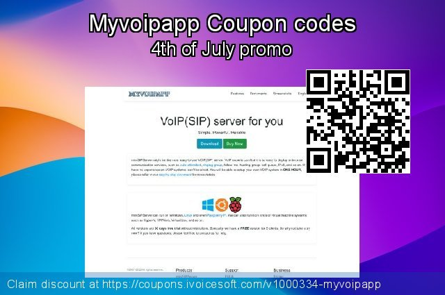 Myvoipapp Coupon code for 2021 Mother Day
