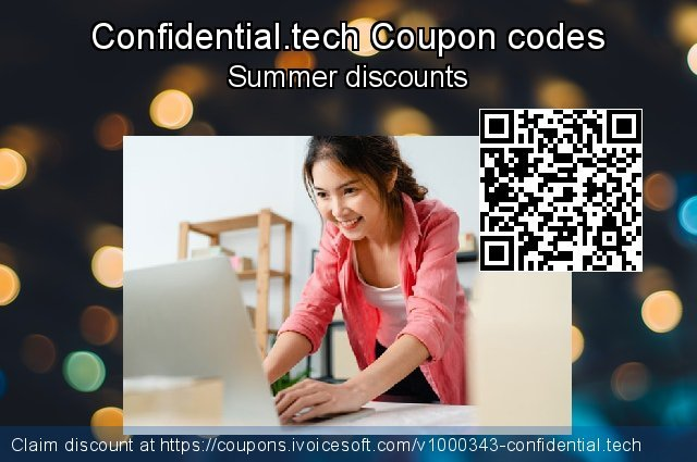 Confidential.tech Coupon code for 2021 Daylight Saving