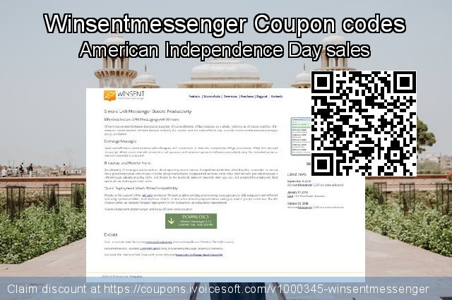 Winsentmessenger Coupon code for 2019 Year-End