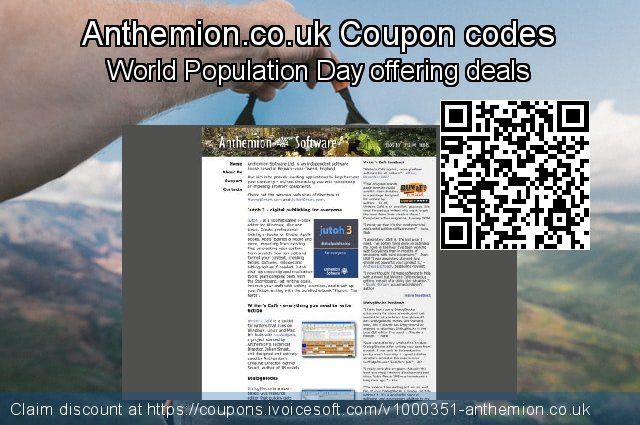 Anthemion.co.uk Coupon code for 2019 Christmas Day
