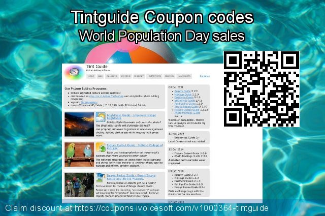 Tintguide Coupon code for 2020 July 4th