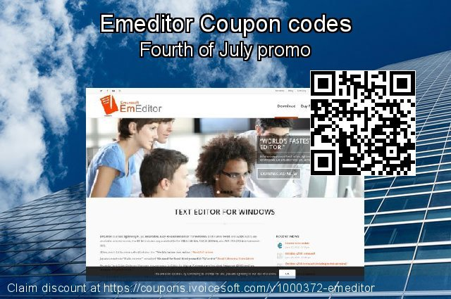 Emeditor Coupon code for 2020 New Year's Day