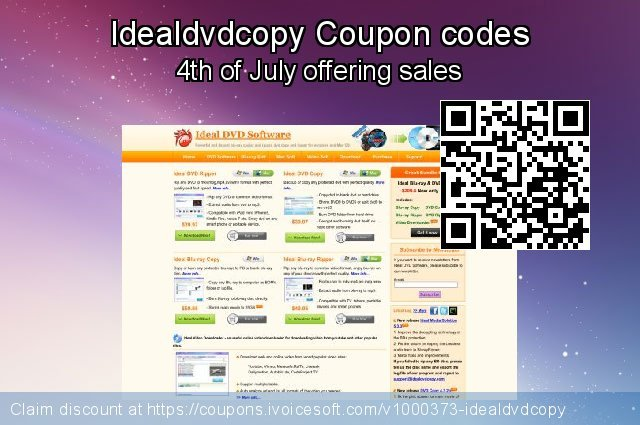 Idealdvdcopy Coupon code for 2019 New Year's eve
