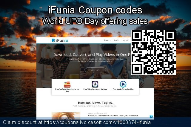 iFunia Coupon code for 2019 Halloween
