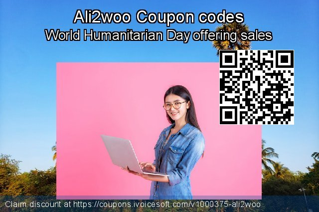 Ali2woo Coupon code for 2021 Spring